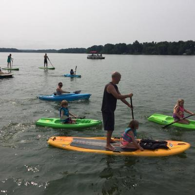 2018 August 18 Paddling Event